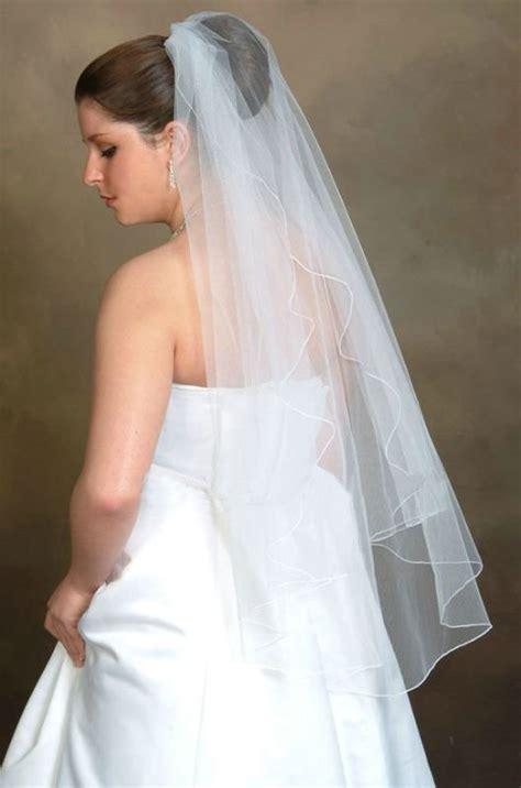 Simple Wedding Veil Sa 11 Au