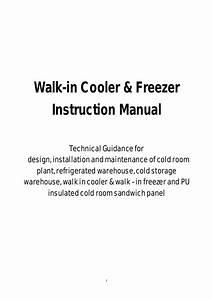 Walk In Cooler  U0026 Freezer Cold Room Plant  U0026 Refrigerated