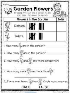 graph worksheets first grade worksheets maths