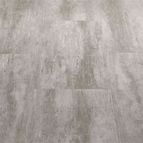 Starfloor Tile Scratched Metal Grey Luxury Vinyl Tile