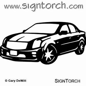 cadillac ctsv signtorch turning images into vector With white cadillac cts6