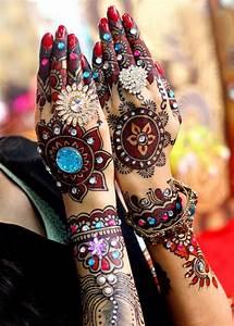 Pakistani, Mehndi, Design, For, Hands