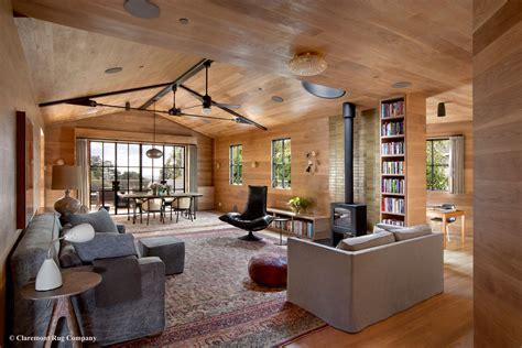 rug in modern living room