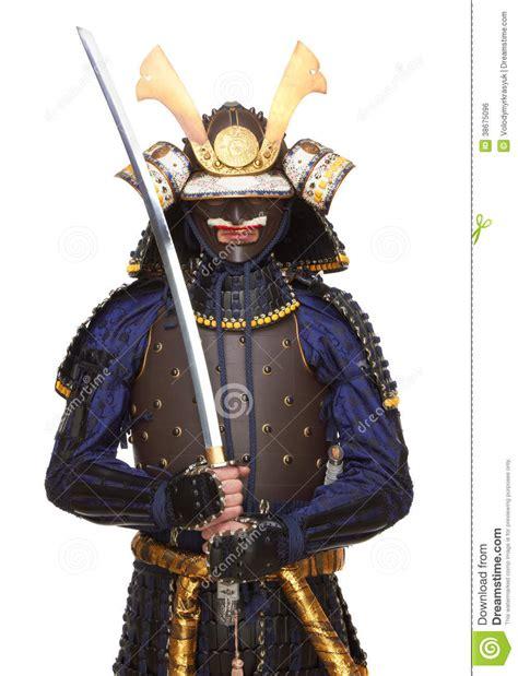 samurai  armor stock photo image  japan position