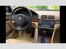 2001 BMW 525i 5 Series E39 Interior YouTube