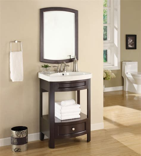 Bathroom Vanity Mirrors by Espresso Sink And Mirror Vanity Set Contemporary