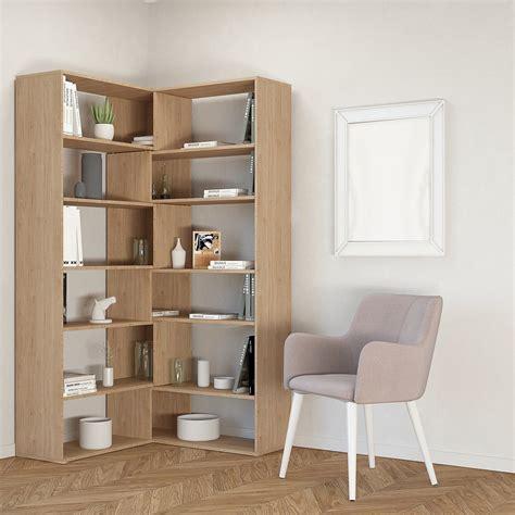 librerie angolo libreria ad angolo moderna salvaspazio foldy