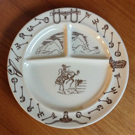 tepco western traveler divided grill plate bucking bronco