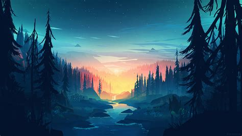 2560x1440 Small Memory By Mikael Gustafsson Wallpaper