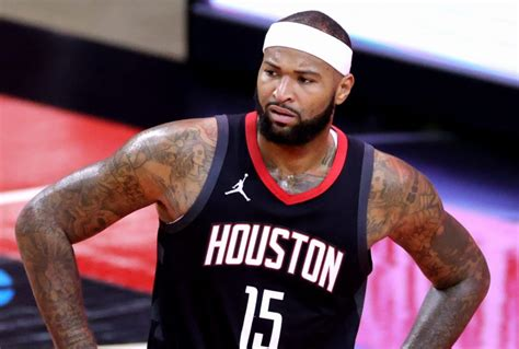 Rockets To Waive DeMarcus Cousins   Hoops Rumors