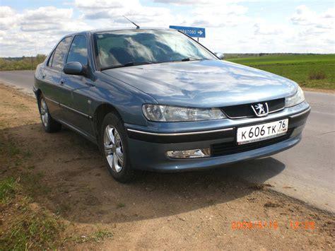 2001 Peugeot 406 Pictures 2000cc Gasoline Ff