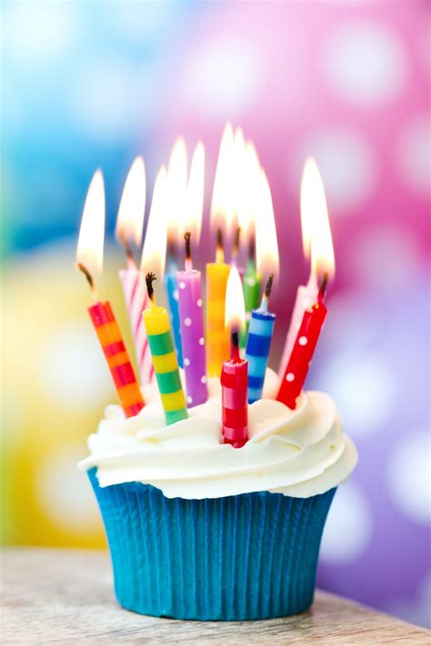Birthday Cupcake Images Happy Birthday Cupcakes With Candles Images Elsoar