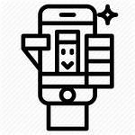 Iphone Camera Cellphone Selfie Icon Smartphone Editor