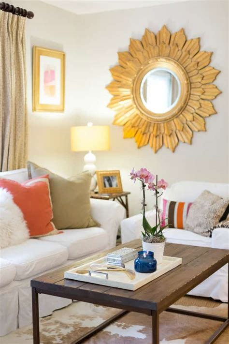 Living Room Style Statements by 8 Style Tips To From These Newlyweds Home Tour