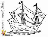 Pirate Ship Coloring Pages Boats Sail Boys Mast Multi Pirates Yescoloring Sea Vessel Seas sketch template