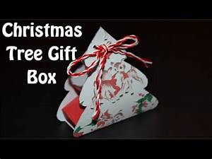 Paper Gift Box for Christmas DIY Crafts Tutorials