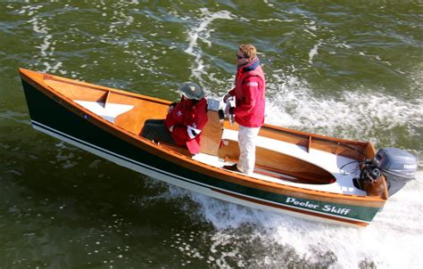 wooden boatbuilder releases center console kit option