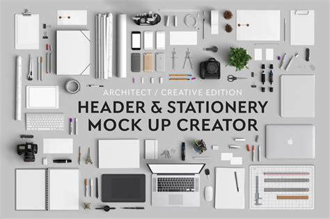 Header Creator by Header Stationery Mock Up Creator