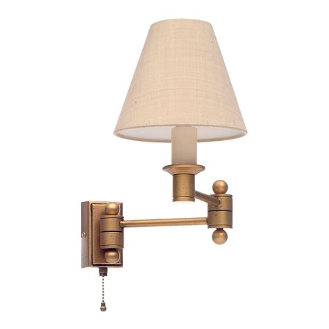 gold adjustable wall lights hinged arm wall