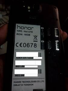 Firmware Honor Hol