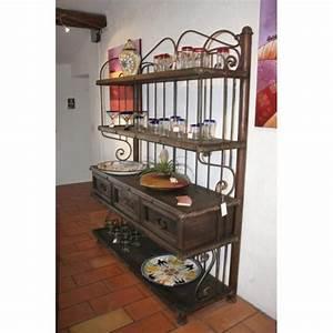 étagère Bois Et Fer Forgé : meuble tv d angle en fer forg sammlung von ~ Edinachiropracticcenter.com Idées de Décoration