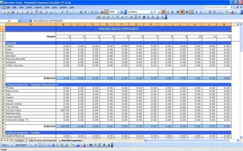 grant tracking spreadsheet excel spreadsheets
