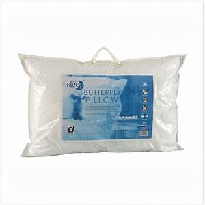 neck support butterfly pillow from the good sleep expert With decent pillows