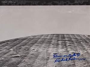 Apollo 12 Flown Lunar Landing Site Landmark Maps