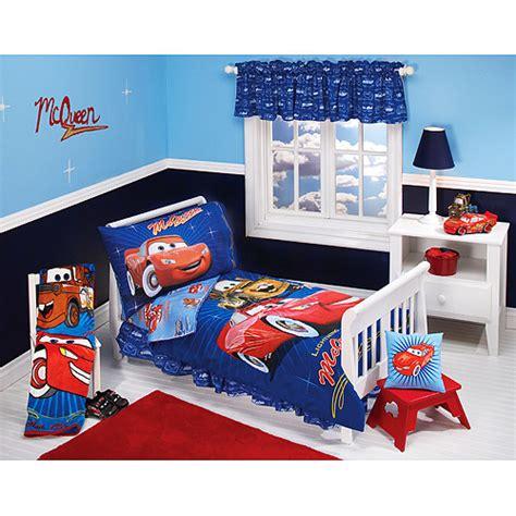 disney pixar cars club 4 piece toddler bedding set