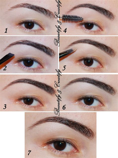 ways  fill   shape eyebrows