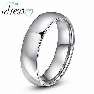 personalized tungsten wedding bands polished tungsten With tungsten wedding rings for him