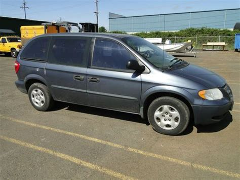 2002 Dodge Caravan Se by Sell Used 2002 Dodge Caravan Se Fwd Non Operational In