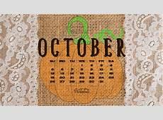 October 2014 Desktop Calendar Wallpaper Call Me Victorian