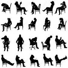 chaise pour assis 앉은사람 실루엣 검색 s illustrations and sketches