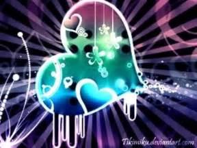 Cool Neon Hearts