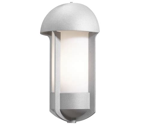 konstsmide tyr 1 light outdoor wall light grey finish with opal acrylic diffuser 510 312 from