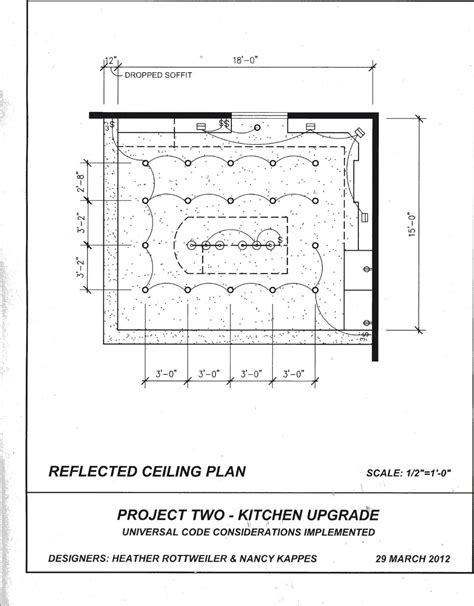 Kitchen Fixtures Standard Dimensions by Reflected Ceiling Plan Reflected Ceiling Plan In