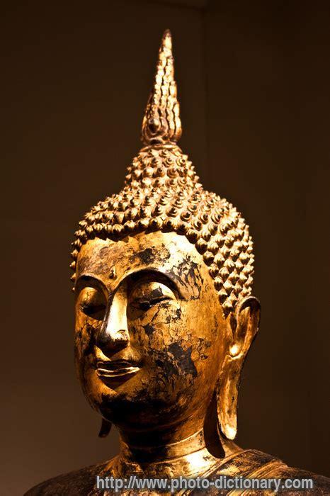 bodhisattva head photopicture definition  photo