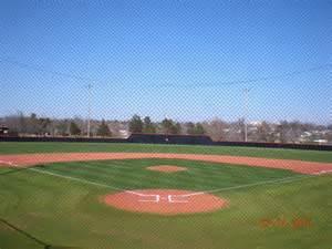 Cushing Oklahoma Baseball Field