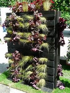 Mur Végétal En Palette : phototh que mur vegetal en palettes bois ~ Melissatoandfro.com Idées de Décoration