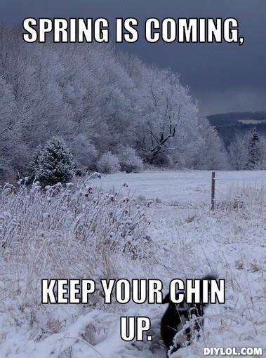 Winter Memes Winter Dog Meme Generator Spring Is Coming