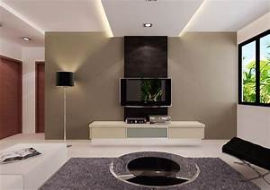 Top 21 living room lcd tv wall unit design ideas for Interior design for living room wall unit
