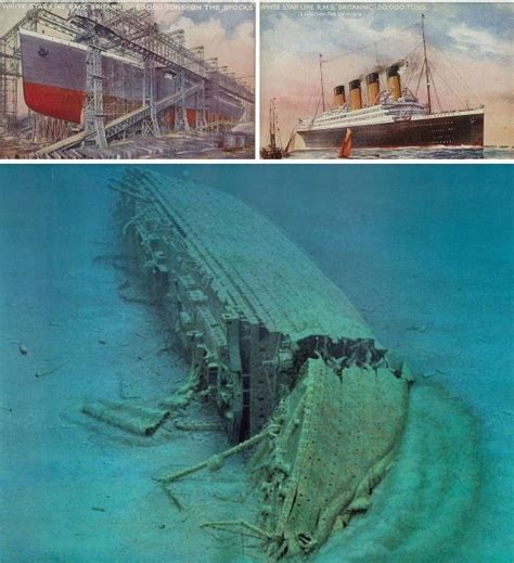 Titanic Sunk By U Boat by Ship Graveyards Abandoned Ships Boats And Shipyards