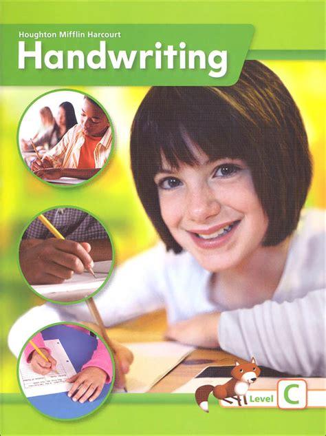 Houghton Mifflin Harcourt International Handwriting Continuous Stroke Student Edition Grade 3