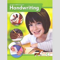 Houghton Mifflin Harcourt International Handwriting Continuous Stroke Student Edition Grade 3