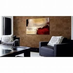 Plaque De Liege Mural : plaque de liege mural d coratif malta chestnut 3x300x600mm colis 1 98 m2 ~ Teatrodelosmanantiales.com Idées de Décoration