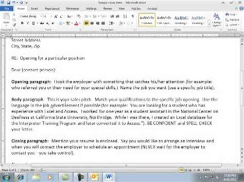 cover letter example it sample cover letter cover letter examples 21022   hqdefault