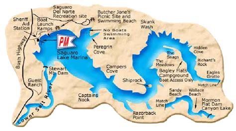 Fishing Boat Rentals Lake Pleasant Az by Arizona Local River Lake Maps East Valley Kayak