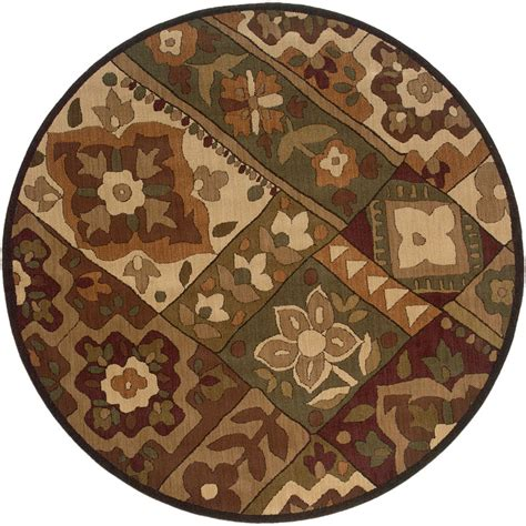 8x8 area rugs 8x8 sphinx panels floral transitional purple 2847d area