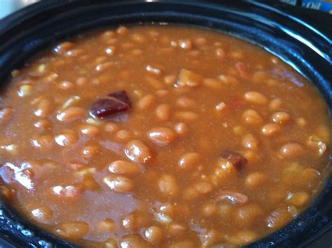 crock pot baked beans easy delicious baked beans cooking for love